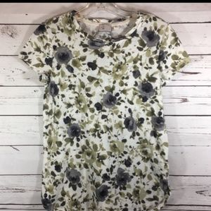 Anthropologie Postmark Brand Floral Top Size XS